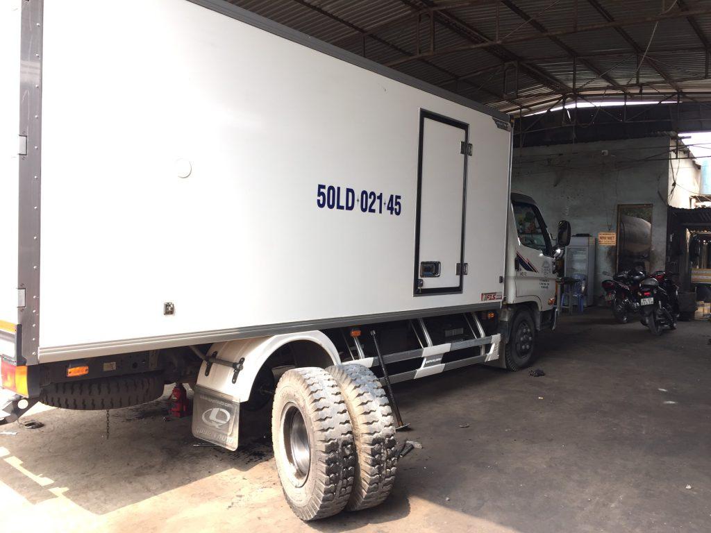 Bảo dưỡng Bánh xe tải - Gara xe tải Minh Nhựt -  - 30