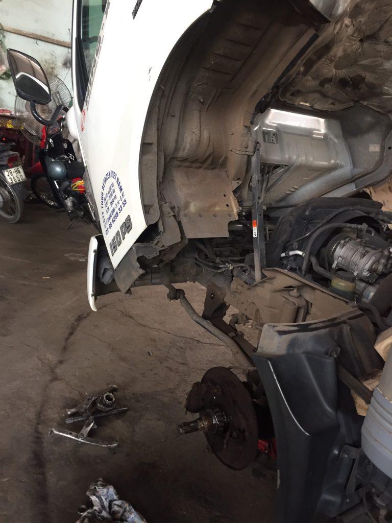 Bảo dưỡng Bánh xe tải - Gara xe tải Minh Nhựt -  - 31