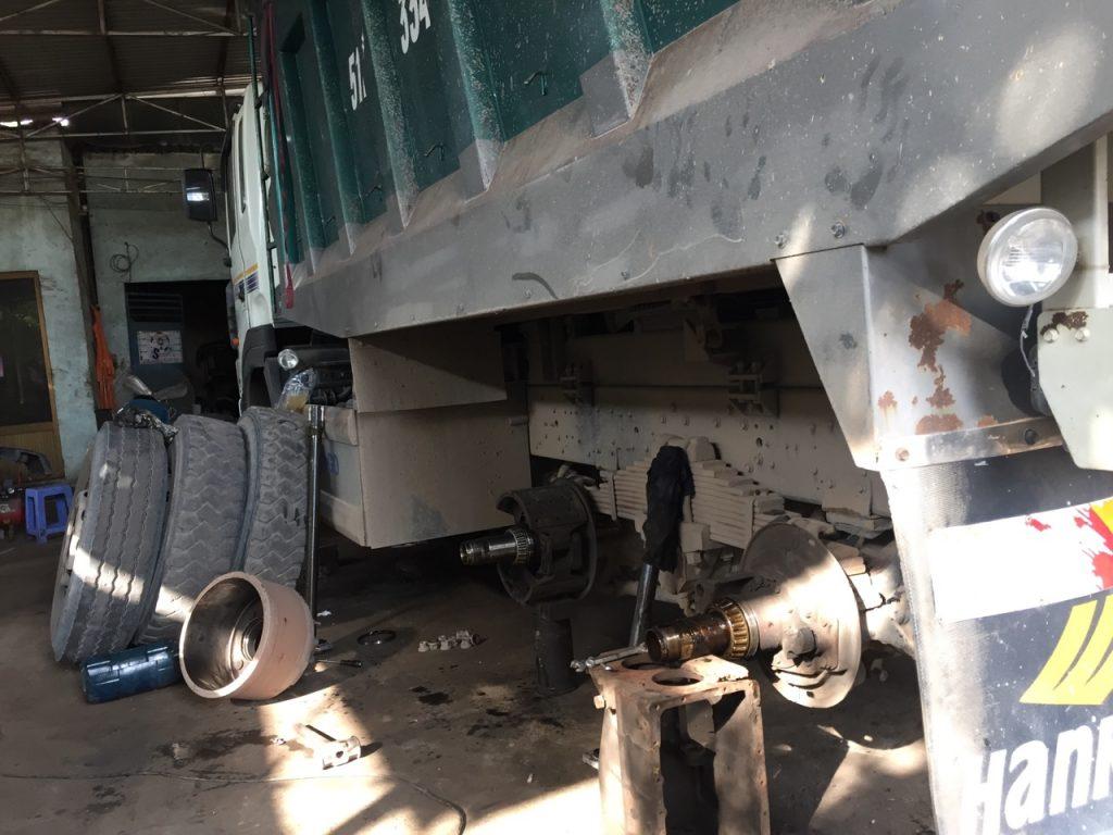Bảo dưỡng Bánh xe tải - Gara xe tải Minh Nhựt -  - 23