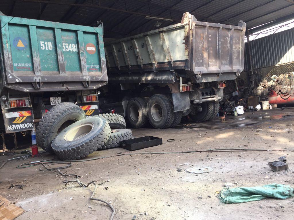 Bảo dưỡng Bánh xe tải -  -  - 32