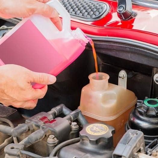 Hao nước làm mát xe tải: Xe hỏng nặng vì tính chủ quan của lái xe, chủ xe