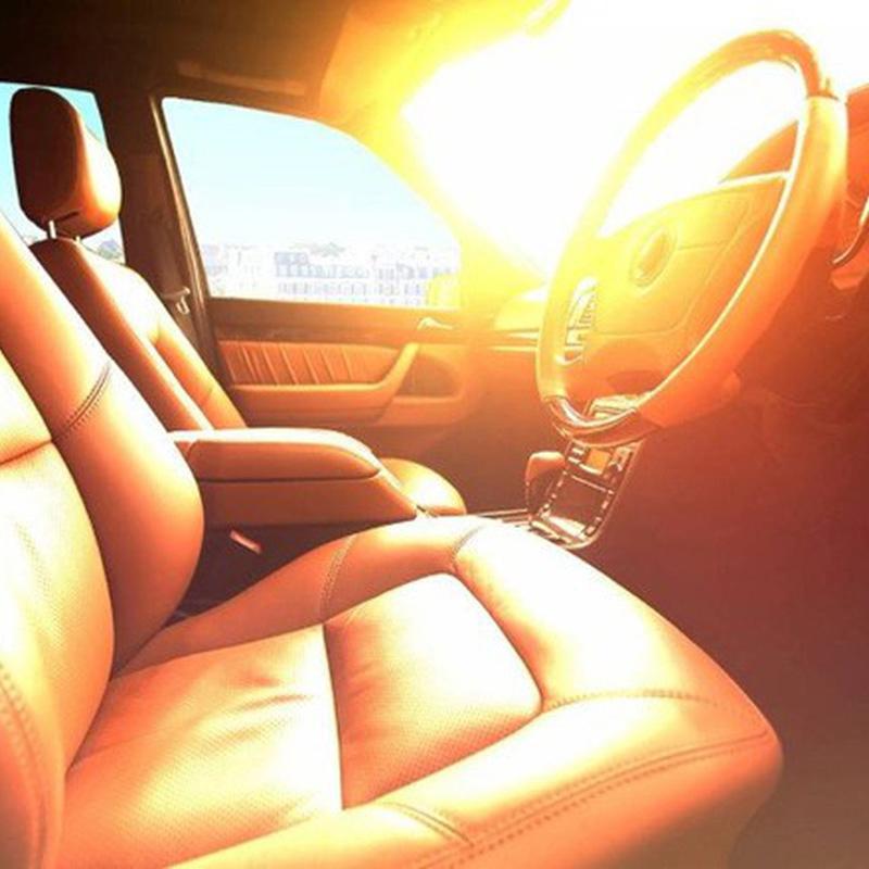 trời nắng nóng không nên để vật gì trong xe