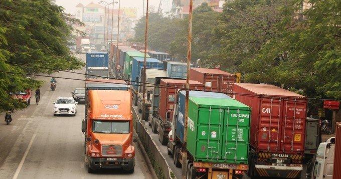 Cách tính tải trọng xe container và những quy định đối với xe container chở quá tải